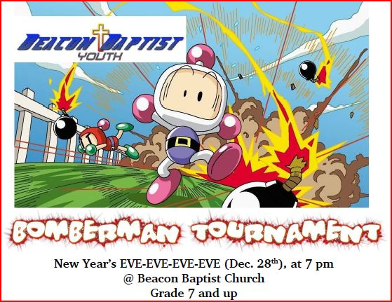 2012, Bomberman Tournament